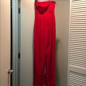 fc46be9272c Meshki Pants - Meshki Livia Strapless Jumpsuit